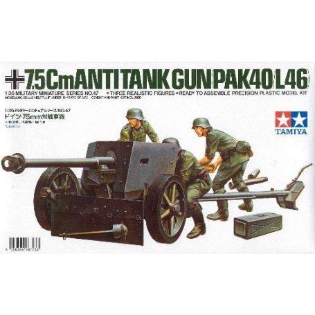 Tamiya 1:35 German 75mm A.T.G.