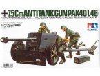 Tamiya 1:35 Działo przeciwpancerne PaK 40 L/46 75mm
