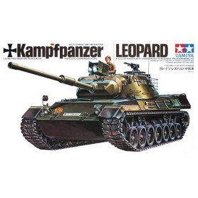 Tamiya 1:35 West Germany Leopard Tank