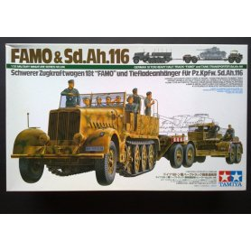 Tamiya 1:35 Famo and Tank Transporter