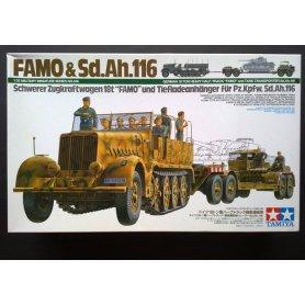 Tamiya 1:35 Half-truck Famo 18t and Sd.Ah.116