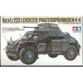 Tamiya 1:35 Sdkfz 222 with photo