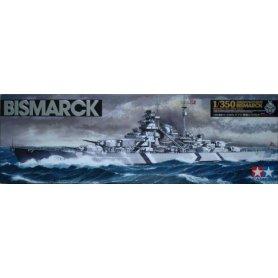 Tamiya 1:350 German battleship Bismarck
