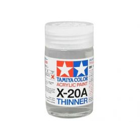 Tamiya Acrylic X-20A Thinner - 46ml