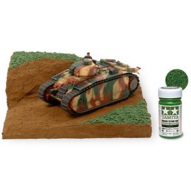 Diorama Texture Paint - Grass Effect: Green
