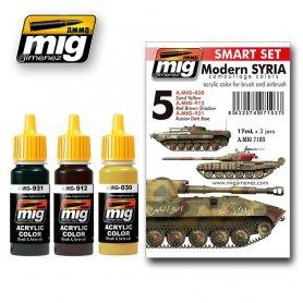 Ammo of MIG Zestaw farb Modern Syrian Camouflage