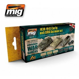 Ammo of MIG Zestaw farb Wargame Early