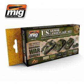 Ammo of MIG Zestaw farb Wargame US Armor