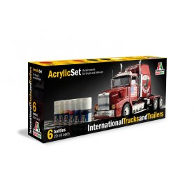 Zestaw farb ITALERI International Trucks and Trailers