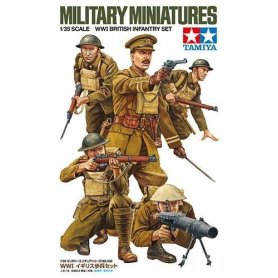 Tamiya 1:35 British infantry set | 5 figurines |
