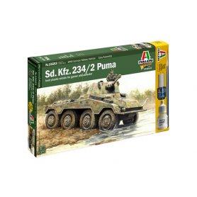 Italeri 1:56 Puma Sdkfz 234/2
