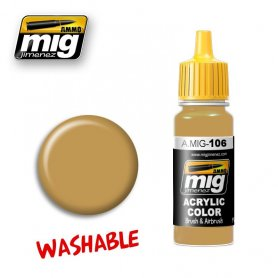 Ammo of MIG Farba zmywalna Washable Sand