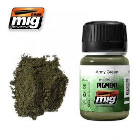 Ammo of MIG PIGMENT Army Green
