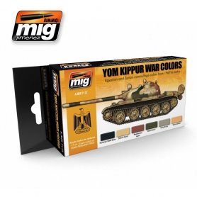 Ammo of MIG Zestaw farb Yom Kippur War