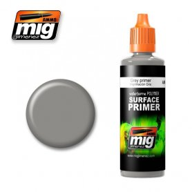 Ammo of MIG Podk?ad akrylowy Szary Grey