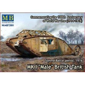 MB 1:72 Mark Mk.I Male 1916