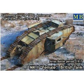 MB 1:72 Mark Mk.II Female Arras Battle 1917