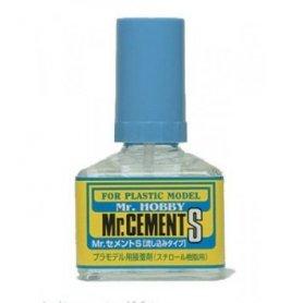 MR.HOBBY Mr.Cement S Rzadki klej z pędzelkiem do modeli plastikowych