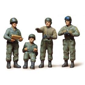 Tamiya 1:35 U.S. Army Tank Crew