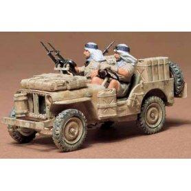 Tamiya 1:35 SAS Jeep | 2 figurki |