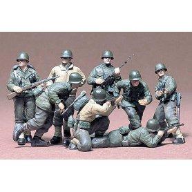 Tamiya 1:35 US infantry in Europe | 8 figurines |