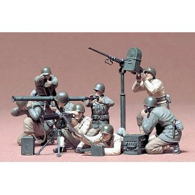 Tamiya 1:35 US infantry with arnament | 8 figurines |