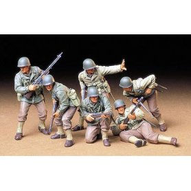 Tamiya 1:35 US Army infantry | 6 figurines |