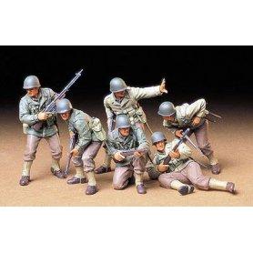 Tamiya 1:35 US Army infantry | 6 figurines |