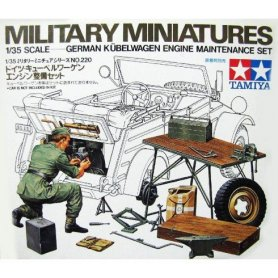 Tamiya 1:35 Kuebelwagen Engine Set