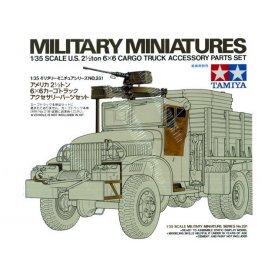 Tamiya 1:35 U.S 2.5T 6x6 Cargo Truck Accessories