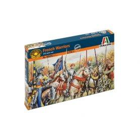Italeri 1:72 French warriors / 100 Years War   28 figurines  
