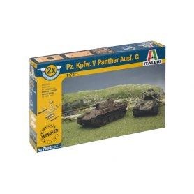 Italeri 1:72 Panther - 2 modele