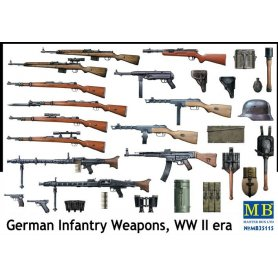 MB 1:35 German Infantry Weapons, WW II