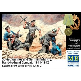 MB 1:35 Hand to hand combat 1941-1942 | 5 figurines |