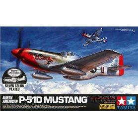Tamiya 1:32 North Americna P-51D Mustang   SILVER PLATED  