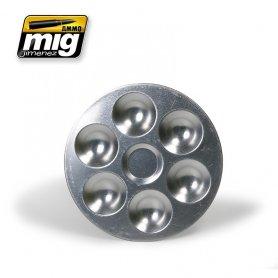 Ammo of MIG Paleta aluminiowa 6 pól