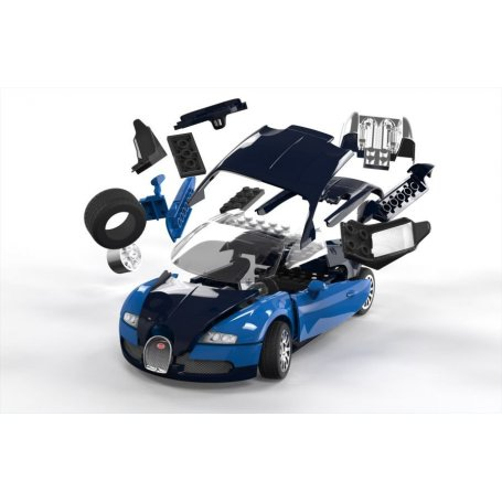 Airfix Klocki QUICK BUILD Bugatti Veyron