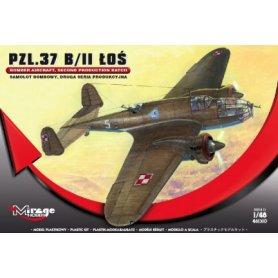 Mirage 1:48 PZL-37 A Łoś Bomber