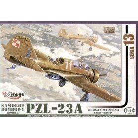 Mirage 1:48 PZL-23A Karaś