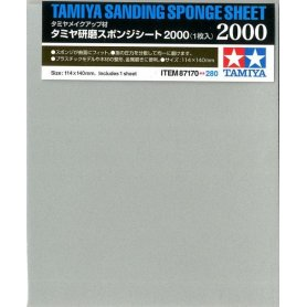 Gąbka ścierna TAMIYA Sanding Sponge 2000