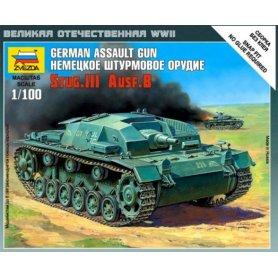 ZVEZDA 1:100 Sturmgeschutz III B