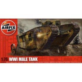 AIRFIX 01315 WWI MALE TANK 1/76 S.1