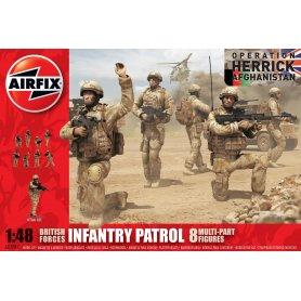 Airfix 1:48 03701 British Forces Infantry Patrol