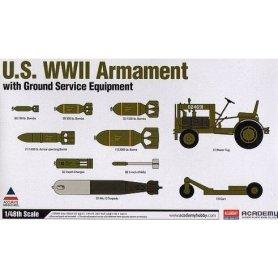 Academy 1:48 12291 US Armament Set WWII