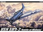Academy 1:48 SBD-2   Battle of Midway  