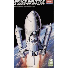 Academy 1:288 Space Shuttle w/Booster Rockets