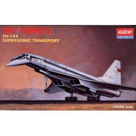 ACADEMY 1699 1/360 TU-144 SUPERSON.
