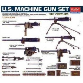 ACADEMY 1384 U.S MACHINE GUN-13262