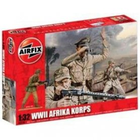 Airfix 1:32 Afrika Korps WWII   47 figurines  