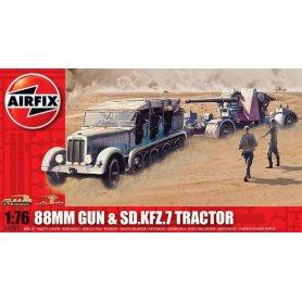 AIRFIX 02303 88 GUN&TRACTOR1/76 S.2